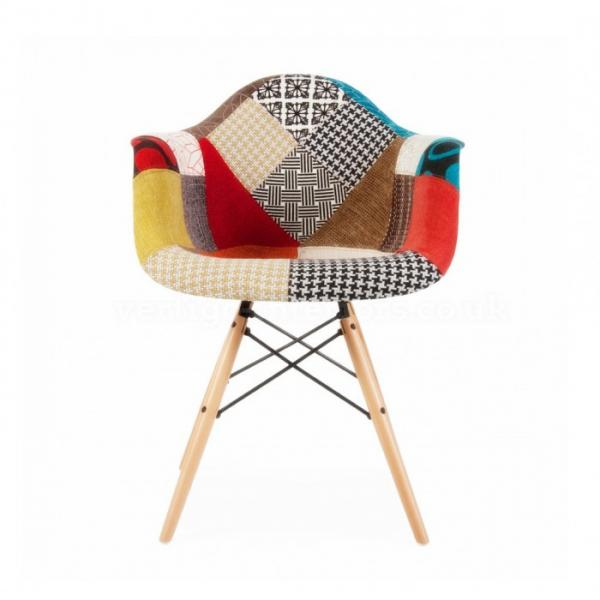 Patchwork Eames DAW Chair